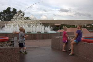 Jumping Water at Epcot