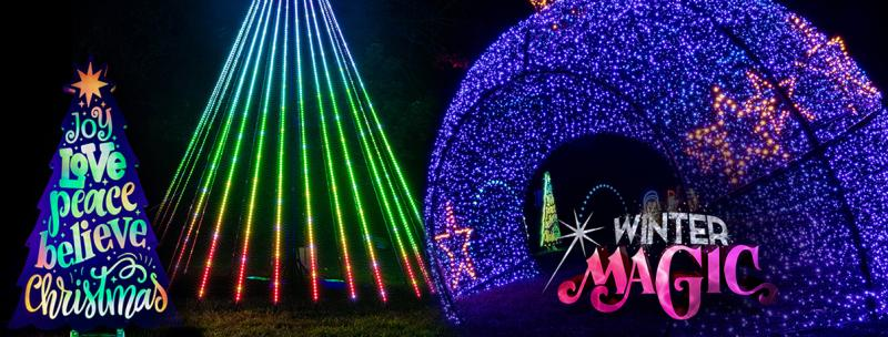 Christmas Events In Kansas City 2020 Winter Magic | A Drive Thru Christmas Lights Experience | Kids Out